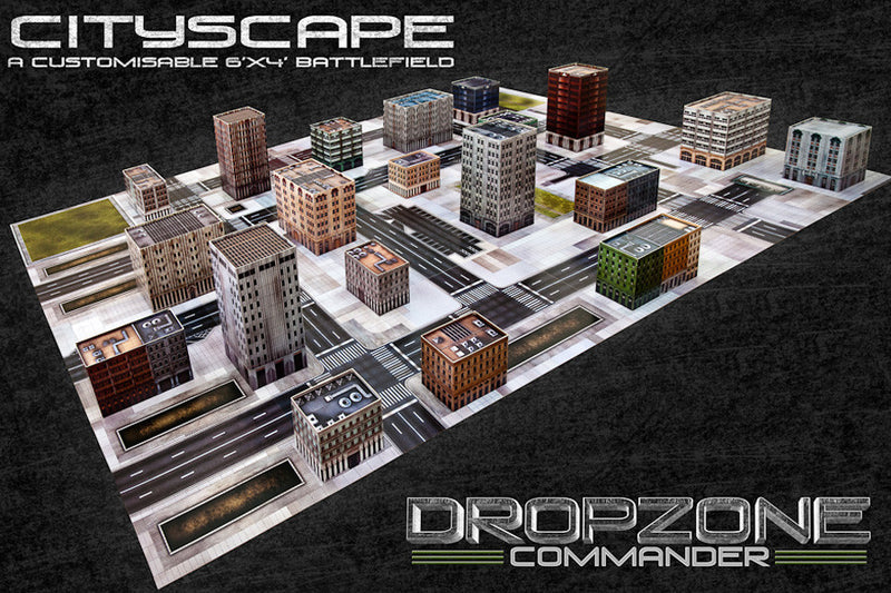 Cityscape Card Scenery Pack
