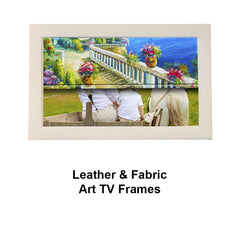 Luxury & Leather TV Art Frames