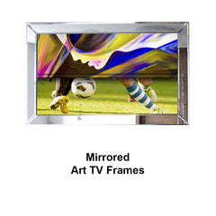 Mirrored TV Art Frames
