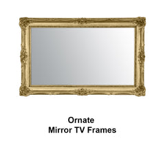 Ornate Mirror TV Frames Collection
