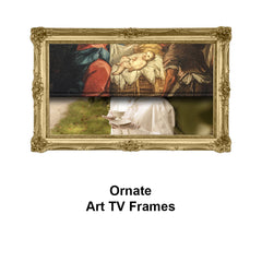 Ornate Art TV Frames