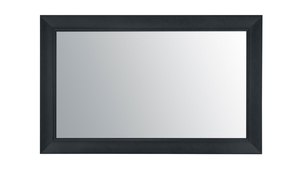 "55"" New York Black Mirror TV Frame with Samsung 55"" Smart 4K TV Frame Your TV"