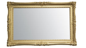 Double Swept Mirror Frame Frame Your TV