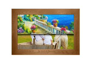 Flatenium TV Art Frame Frame Your TV