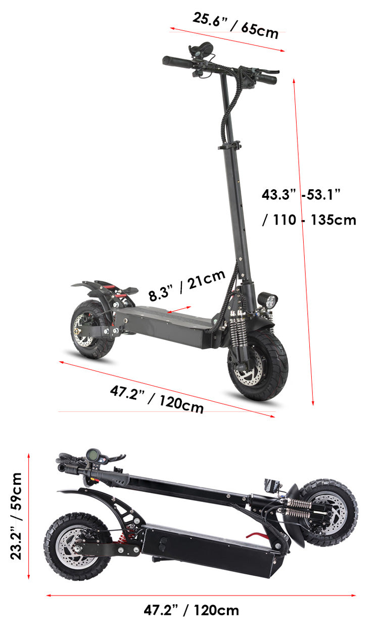 Nero Cycle D5 2400W 60V Dual Motor Electric Scooter 02