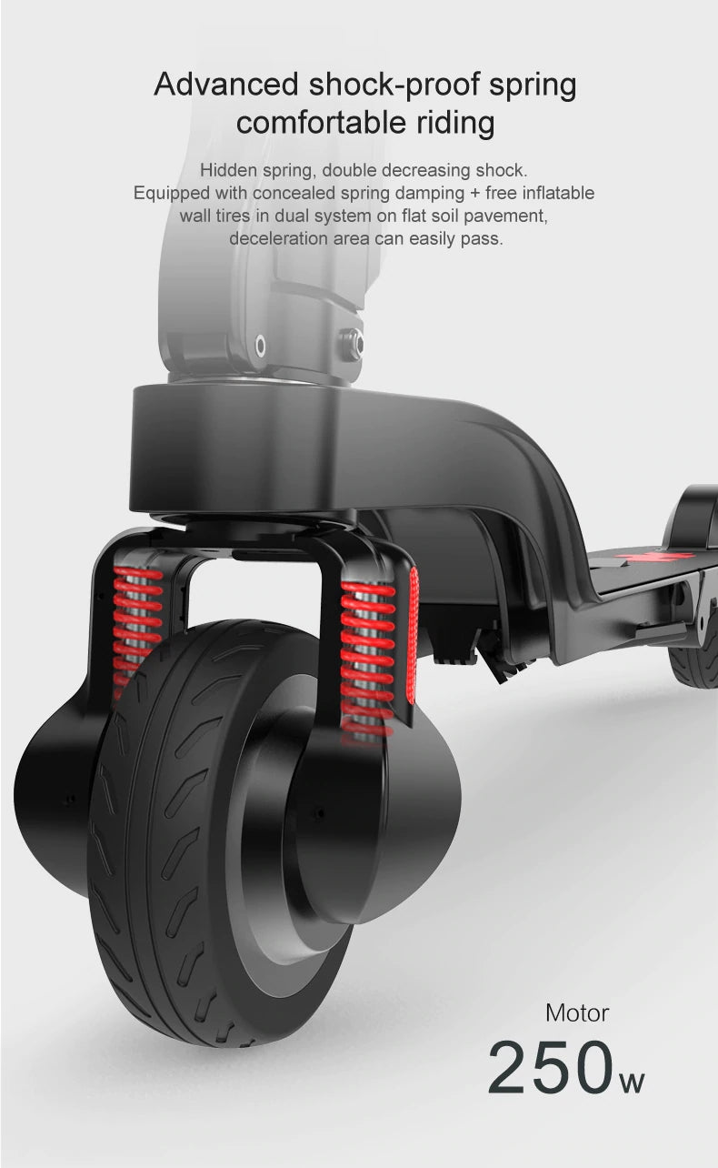X6 Foldable Electric Scooter 011