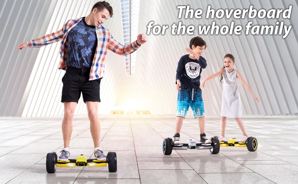 Wonderful Hoverboard for the Whole Family