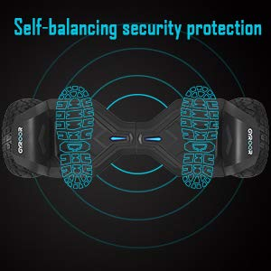 SELF BALANCING SECURITY PROTECTION OF HOVERBOARD