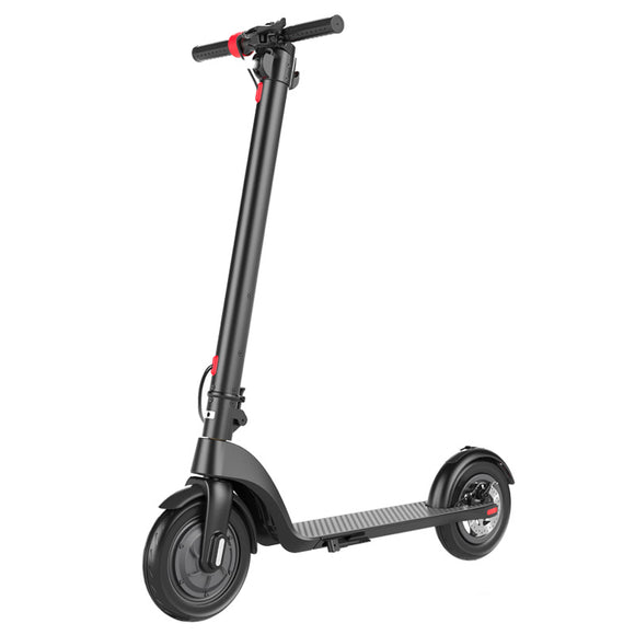 X7 10 Inch Wheel Folding Electric Scooter With 36V6.4Ah Portable Battery
