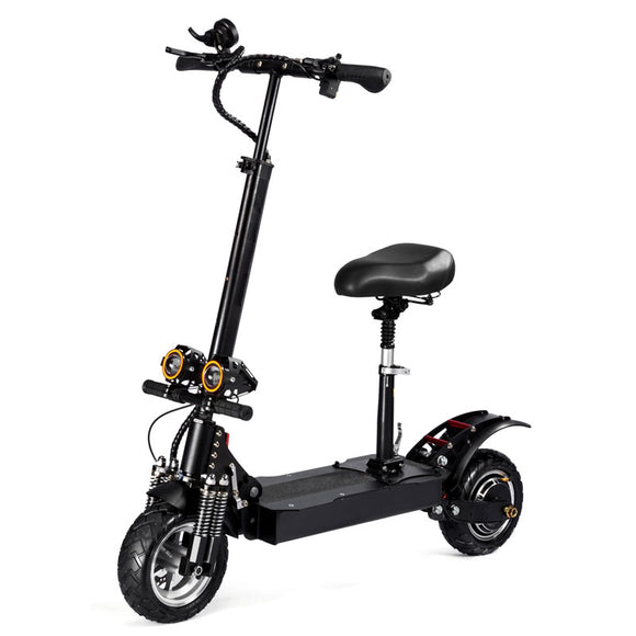 D4 Plus 2000W Dual Motor Folding Electric Scooter