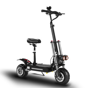 X4 5600W Dual Motor Folding Electric Scooter