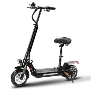 S4 1200W 50Miles Range Folding Electric Scooter