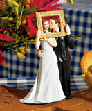 """Picture Perfect"" Couple Figurine Cake Topper"