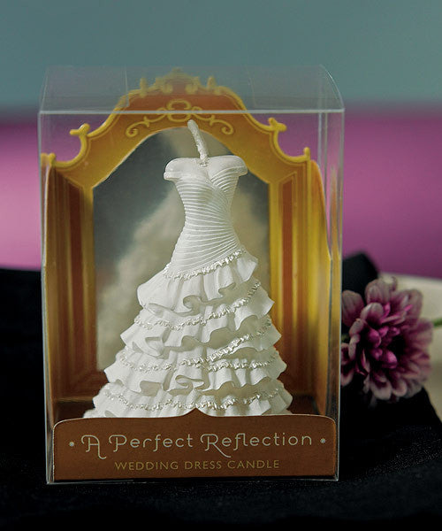 A Perfect Reflection - Wedding Dress Mini Candle (Pack of 6)