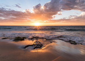 Sunset on Cottesloe beach Western Australia