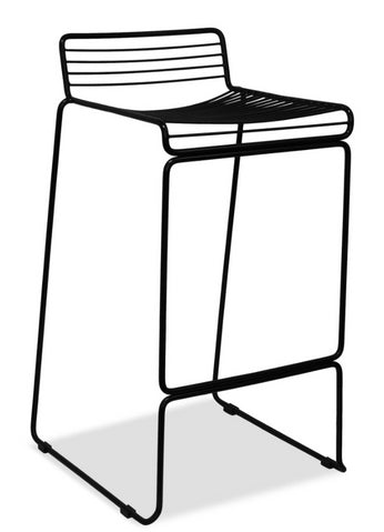 wire barstool - voltage