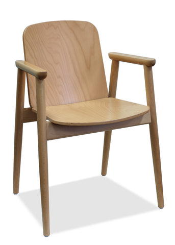 Ainslee - Bentwood Armchair - Natural