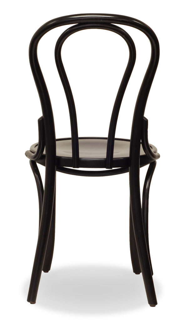 Classic Bentwood Chairs Bon Uno Black – Black Bentwood Chair
