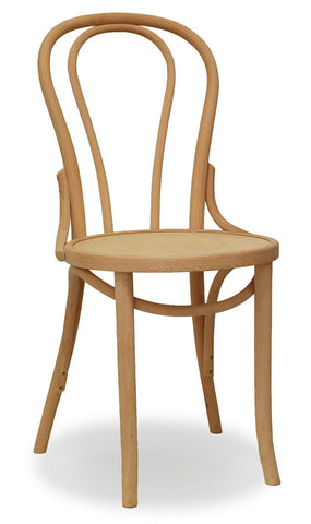 bentwood chair - natural  - bon uno