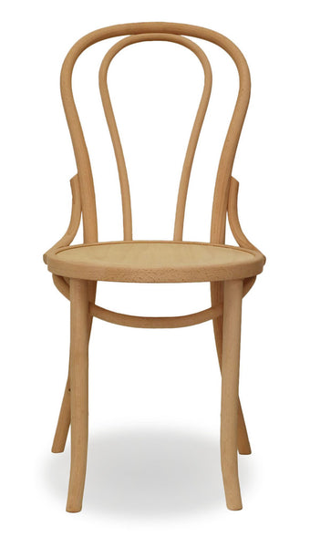 timber bentwood chair - bon uno
