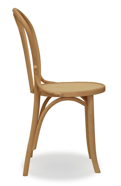 natural bentwood chair - bon uno