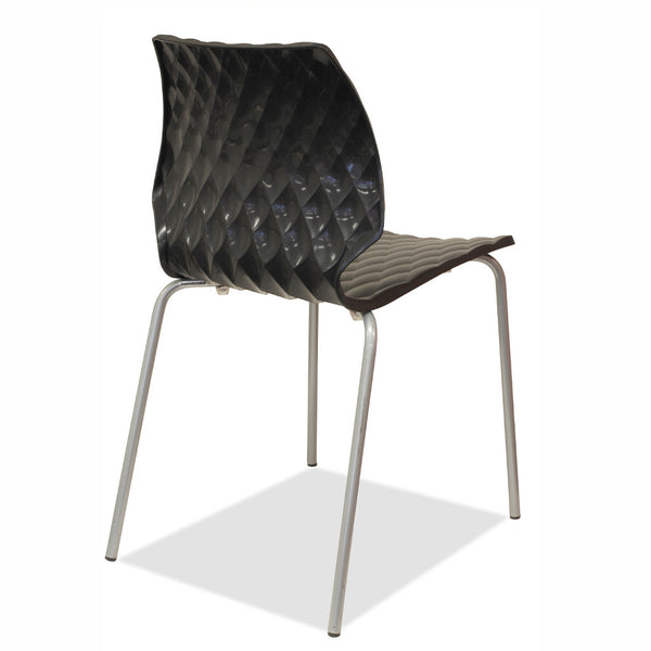 dining chairs - black - uni