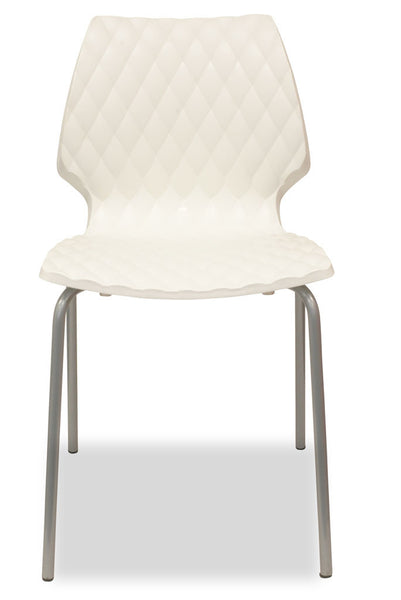 Uni  - Modern European Designer Chairs - White