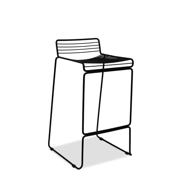 wire bar stool - voltage - black