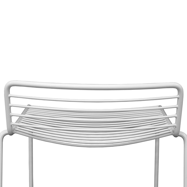 Voltage Bar Stool - White