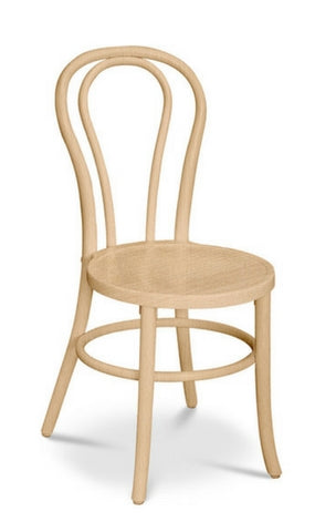 Stackable bentwood chair - Bon Uno S - Natural
