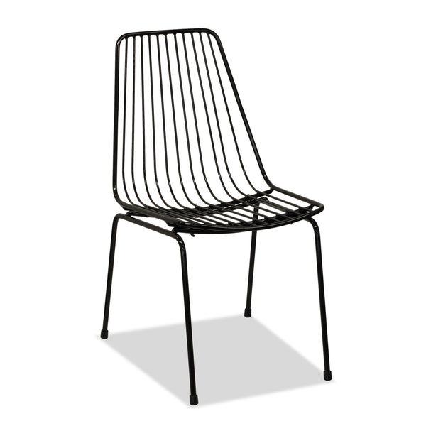 Miko Dining Chair - Black