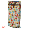 planet wise hanging wet/dry bag owl