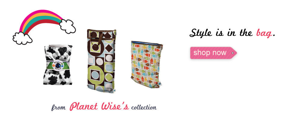Planet wise wet bags and pail liners for cloth diapers