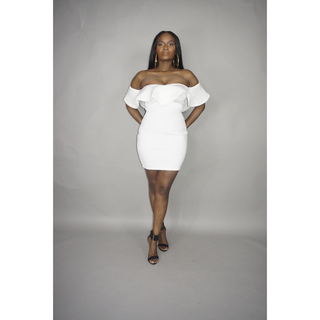 White Bella Dress