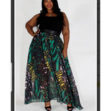 Tiffany Skirt Green Plus Size