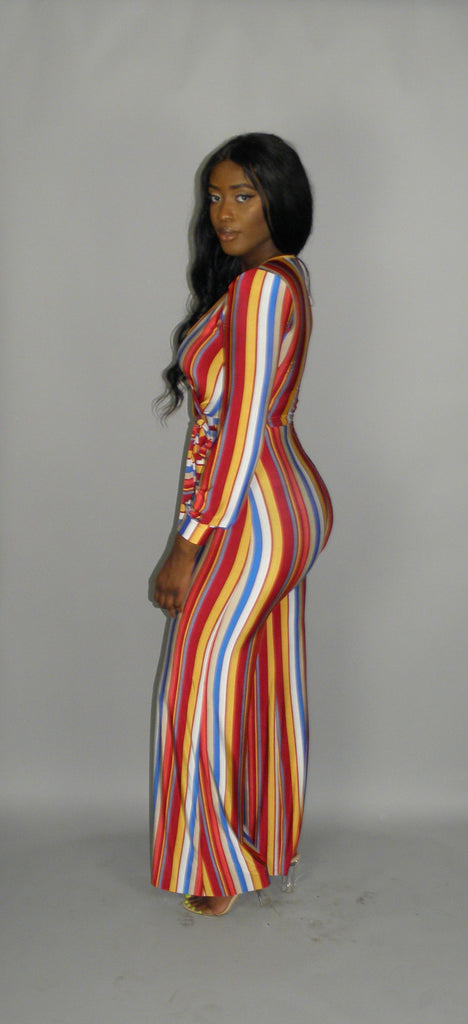 Stripes All Over Me Jumpsuit