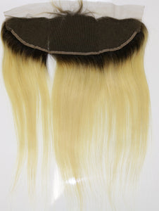1B/613 Blonde Straight Frontals - Shari's Hair Boutique