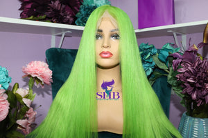 Green Pre-Colored Full Lace Wigs - Shari's Hair Boutique