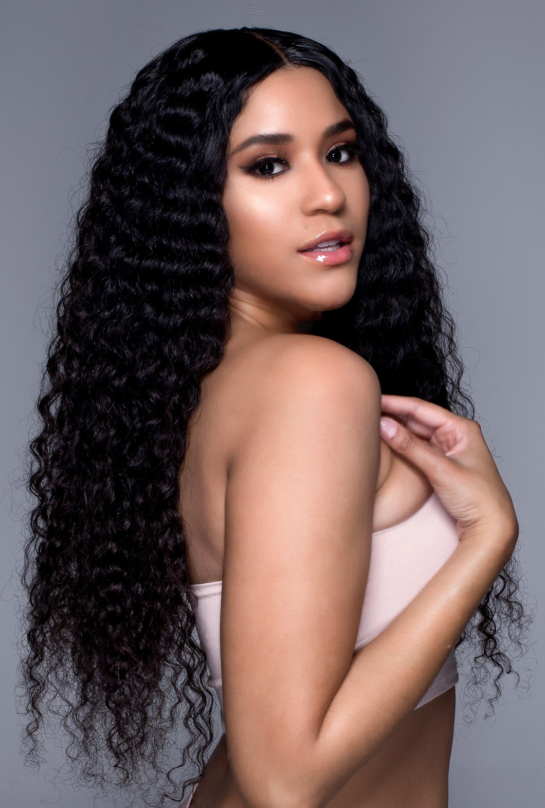 Deep Curly Hair Extensions - Shari's Hair Boutique