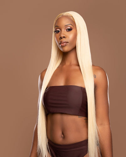 Blonde 613 Straight Frontals - Shari's Hair Boutique