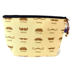 Zipper Notion Pouch - No Shave November