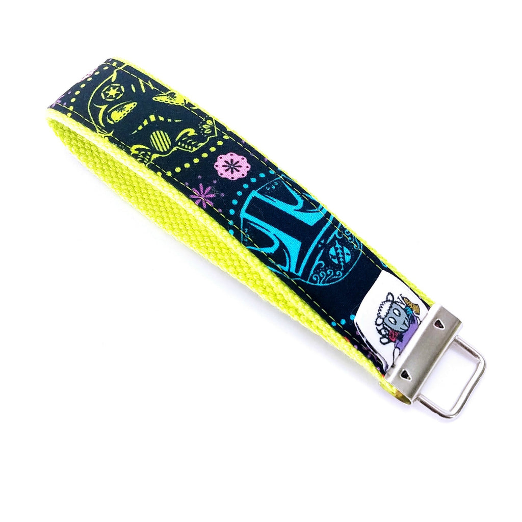 In a Colorful Galaxy Far Far Away </br> Travel Lanyard:Travel Lanyard,Slipped Stitch Studios:Slipped Stitch Studios