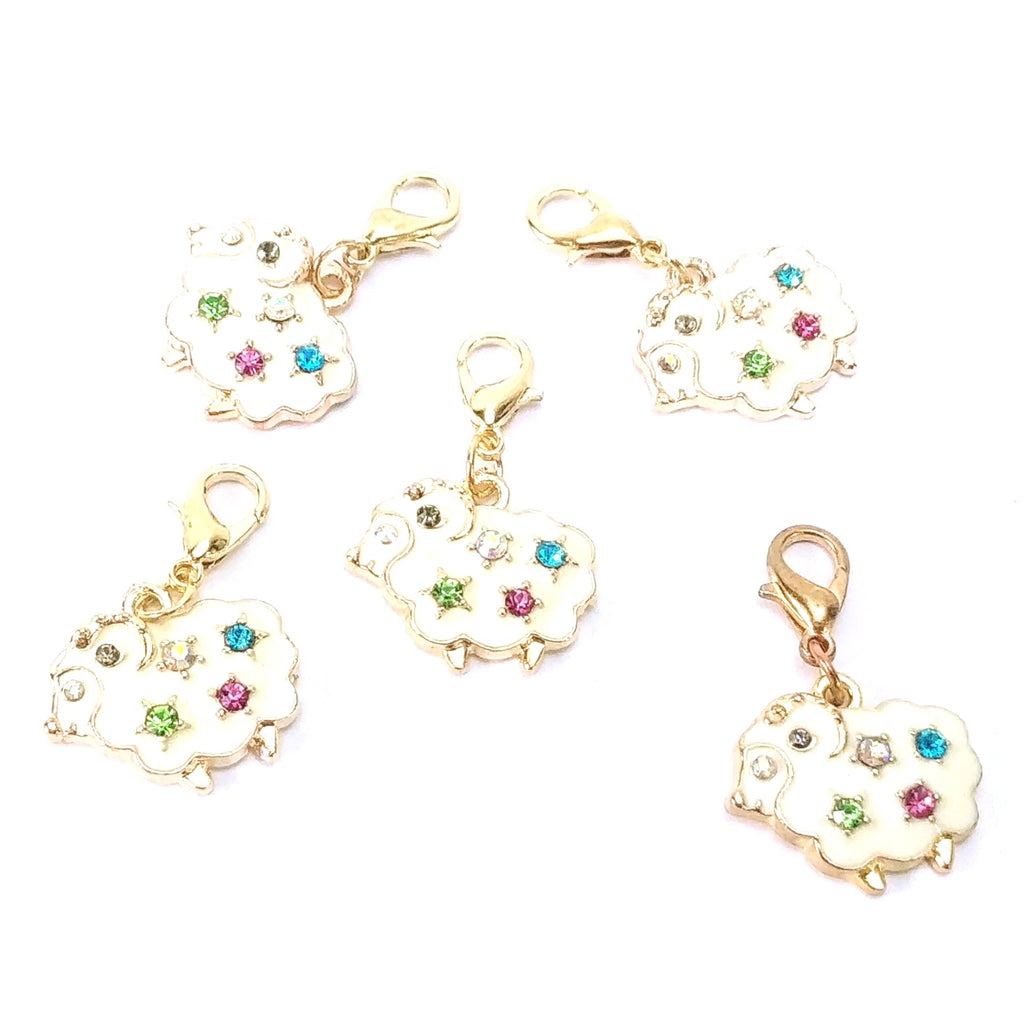 Stitch Markers - Elegant Sheep:Stitch Markers,Slipped Stitch Studios:Slipped Stitch Studios