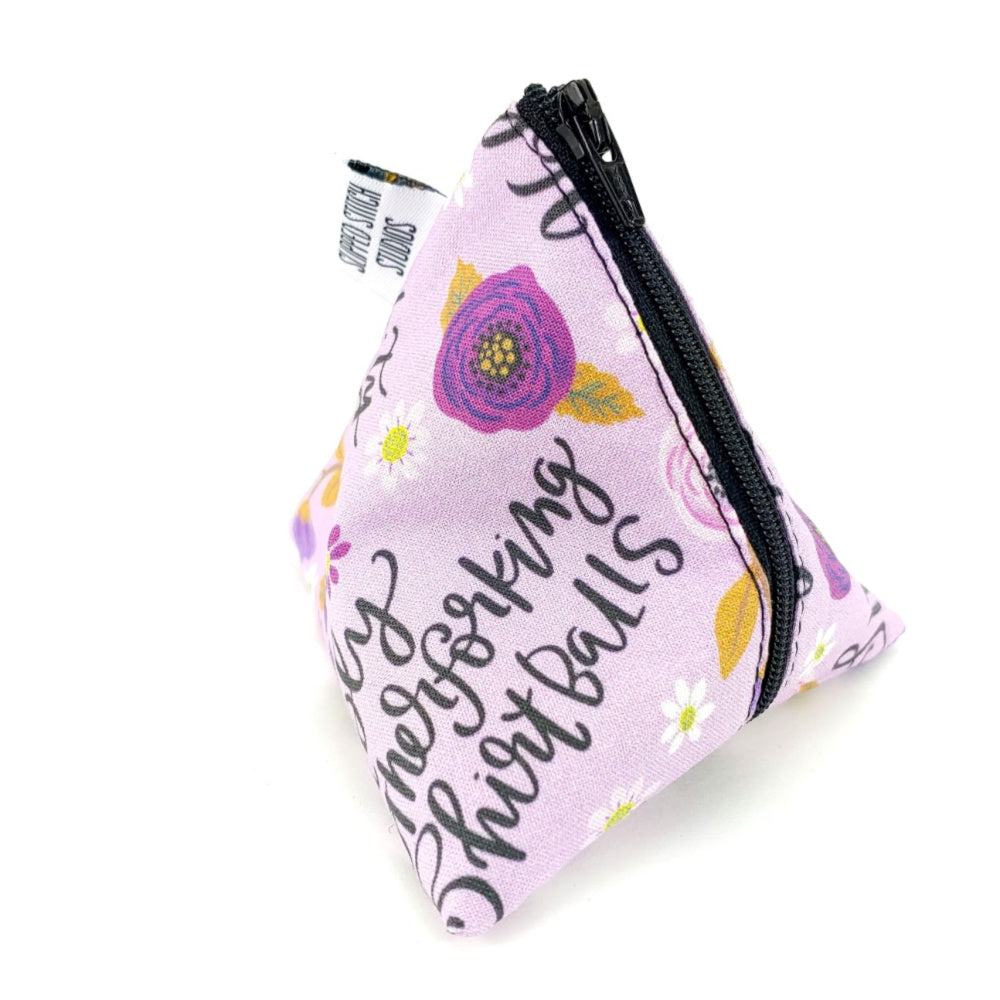 Not So Sweary </br> Triangle Zipper Notion Pouch
