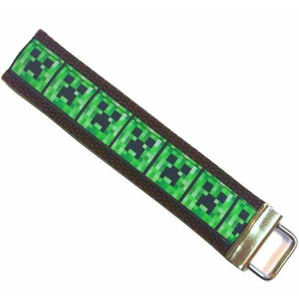 Minecraft Creepers </br> Travel Lanyard:Travel Lanyard,Slipped Stitch Studios:Slipped Stitch Studios