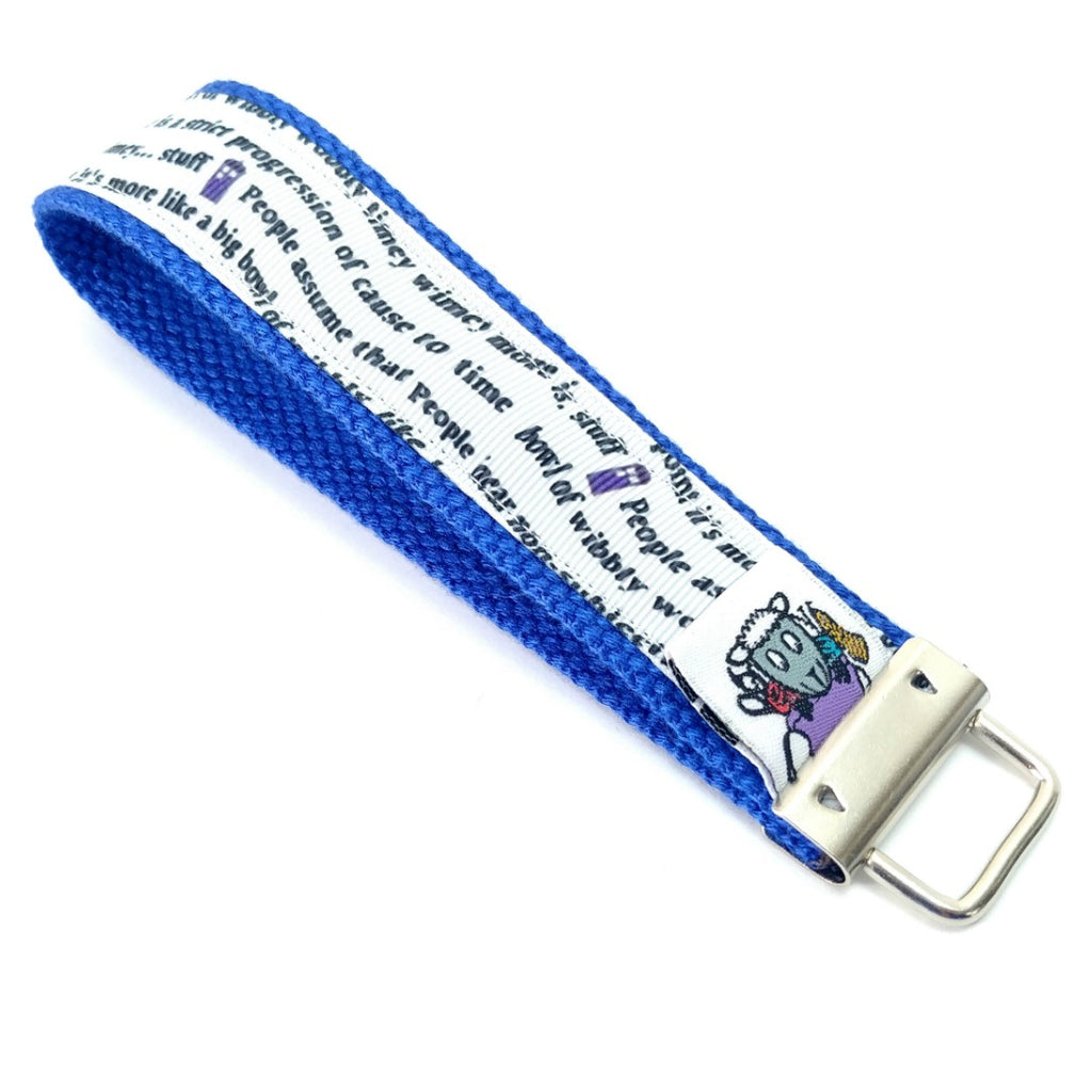 Make Your Own Travel Kit - Lanyard - Wibbly Wobbly Timey Wimey:Travel Kit Single,Slipped Stitch Studios:Slipped Stitch Studios
