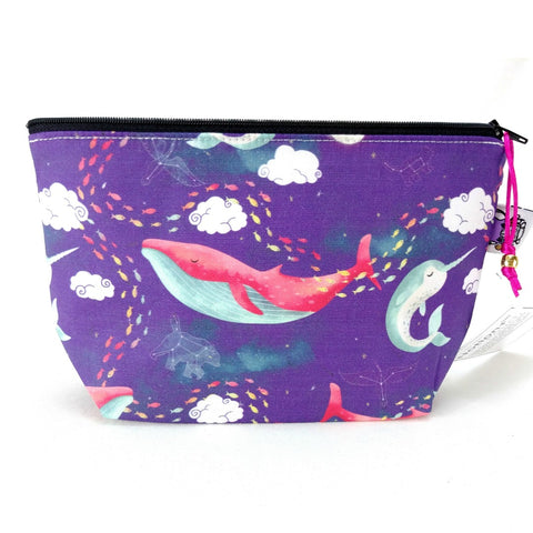 Zipper Notion Pouch - EXTRAS - Dream Whales