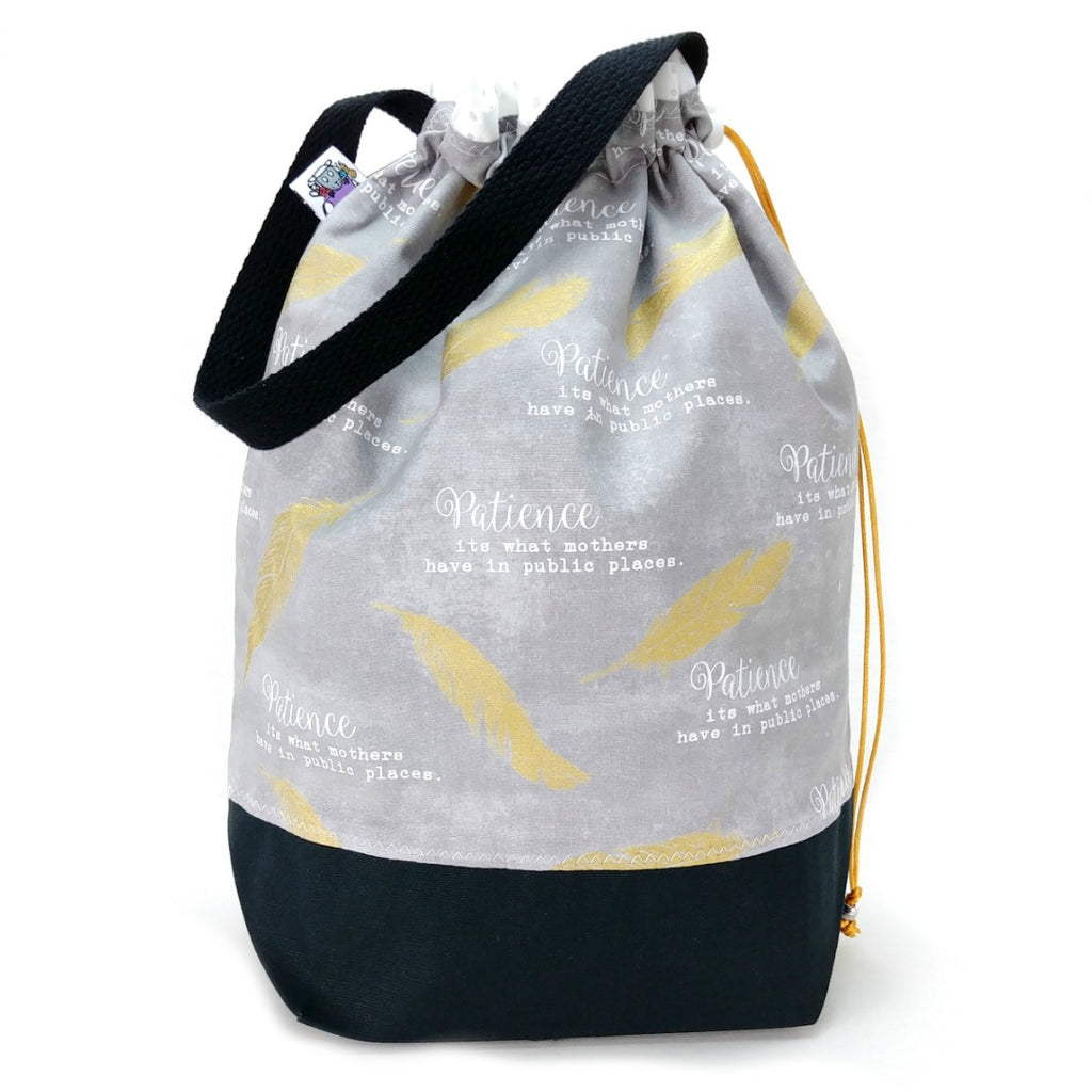 Double-Project Plus - Patience:Double Project Tote,Slipped Stitch Studios:Slipped Stitch Studios