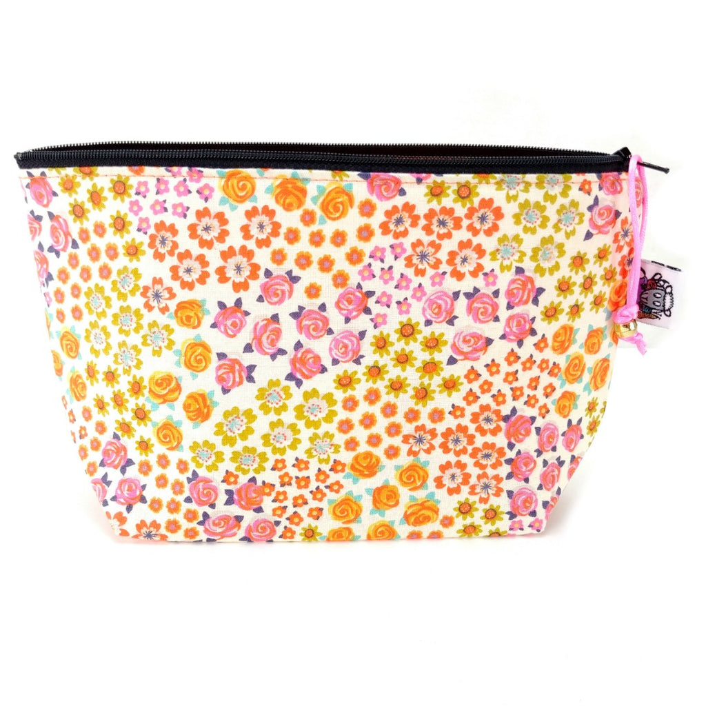 Zipper Notion Pouch - Succulent:Zipper Notion Pouch,Slipped Stitch Studios:Slipped Stitch Studios