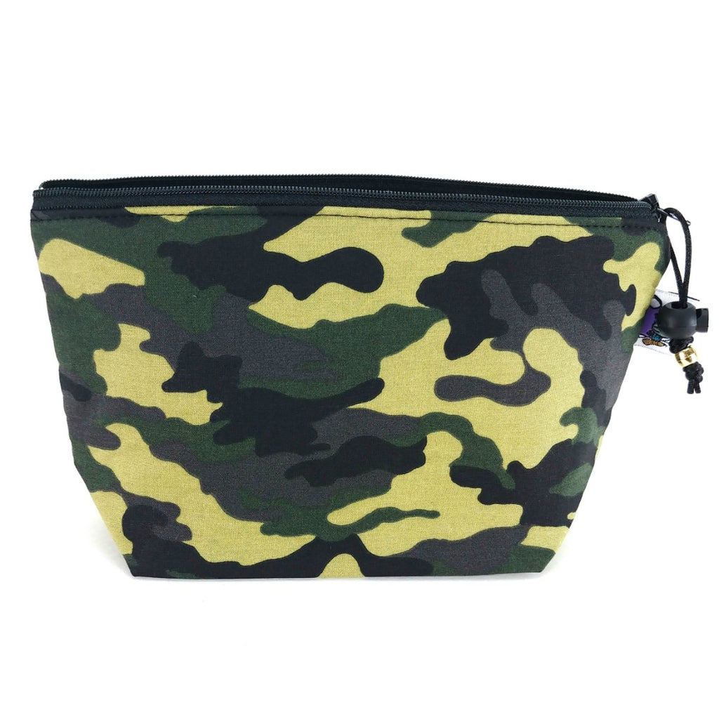 Zipper Notion Pouch - Camo:Zipper Notion Pouch,Slipped Stitch Studios:Slipped Stitch Studios